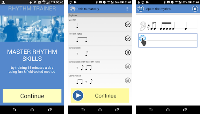 Androidのリズムトレーニングアプリ・Rhythm Trainer